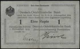 R.914c Deutsch-Ostafrika 1 Rupie 1.11.1915 A (3)