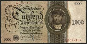 R.172: 1000 Reichsmark 1924 R/A (4)
