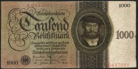 R.172a: 1000 Reichsmark 1924 T/A (3)