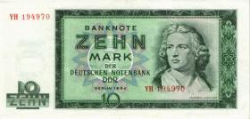 R.355b 10 Mark 1964 YH Ersatznote (2)