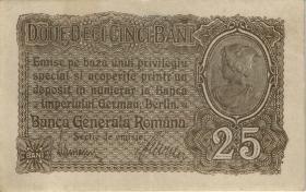 R.472a: Besetzung Rumänien 25 Bani 1917 (2)