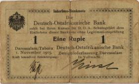 R.916a: Deutsch-Ostafrika 1 Rupie 1915 B (4)