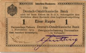 R.916j: Deutsch-Ostafrika 1 Rupie 1915 R (2)
