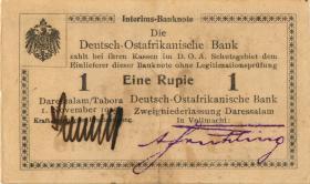 R.916m: Deutsch-Ostafrika 1 Rupie 1915 T SN:10948 (2)