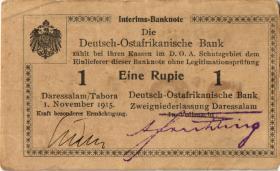 R.916m: Deutsch-Ostafrika 1 Rupie 1915 T SN:48206 (2)