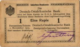 R.916m: Deutsch-Ostafrika 1 Rupie 1915 T (1-)
