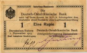 R.916p: Deutsch-Ostafrika 1 Rupie 1915 Y (1/1-)