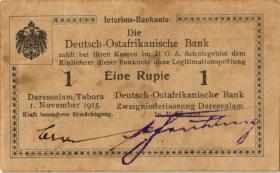 R.916r: Deutsch-Ostafrika 1 Rupie 1915 B2 (2)