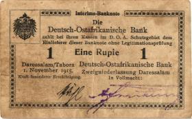 R.916t: Deutsch-Ostafrika 1 Rupie 1915 D2 (2)