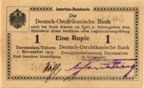 R.916u: Deutsch-Ostafrika 1 Rupie 1915 E2 (1-)