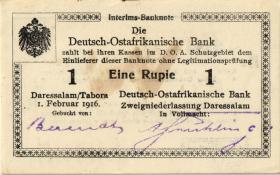 R.928g: Deutsch-Ostafrika 1 Rupie 1916 M2 (1)