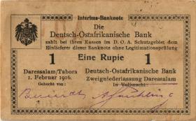 R.928m: Deutsch-Ostafrika 1 Rupie 1916 S2 (1-)