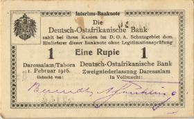 R.928o: Deutsch-Ostafrika 1 Rupie 1916 U2 (1-)