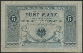 R.001: 5 Mark Reichskassenschein 1874 (3/4)