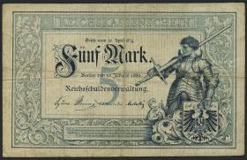 R.006: 5 Mark 1882 (3-)