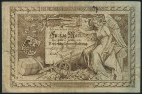 R.008: 50 Mark 1882 Reichskassenschein (4)