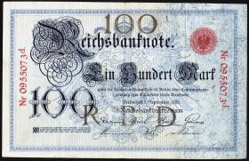 R.009: 100 Mark 1883 (3+)