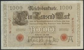 R.018 1000 Mark 1898 (3+)