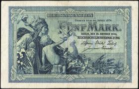 R.022a: 5 Mark 1904 (3)