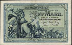 R.022a: 5 Mark 1904 (2)