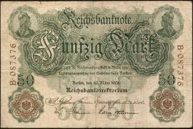 R.025a 50 Mark 1906  6-stellig (3)