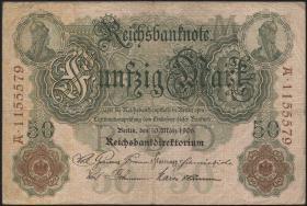 R.025b 50 Mark 1906 7-stellig  (3)