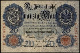 R.031: 20 Mark 1908 (2+)