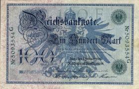 R.034: 100 Mark 1908 grünes Siegel (1)