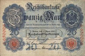 R.040b: 20 Mark 1910 (3)