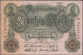 R.042: 50 Mark 1910  (1-)