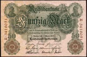 R.042: 50 Mark 1910 (3+)