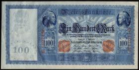 R.043a: 100 Mark 1910 (2) weiß