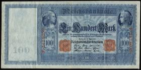 R.043: 100 Mark 1910 (3) weiß