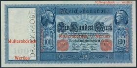 R.043P1/2: 100 Mark 1910 Druckprobe (1)