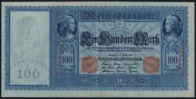 R.043b: 100 Mark 1910 (2) hellblau