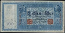R.043b: 100 Mark 1910 (3) hellblau
