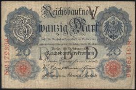 R.047bF:  20 Mark 1914 (3)