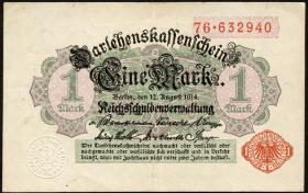 R.051a: 1 Mark 1914 (2)