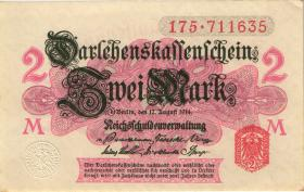 R.052a: 2 Mark 1914 ohne Unterdruck (2)