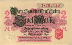 R.052a: 2 Mark 1914 (1) Serie 1
