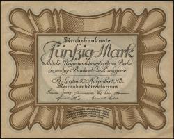 R.057a: 50 Mark 1918 (1/1-)