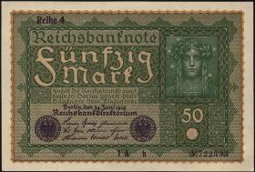 R.062d: 50 Mark 1919 Reihe 4 (1)