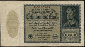 R.069a: 10000 Mark 1922 Reichsdruck (3)