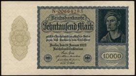 R.069b: 10000 Mark 1922 Reichsdruck (3)