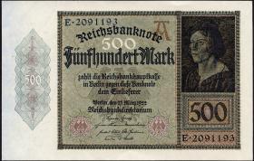 R.070: 500 Mark 1922 (1-)