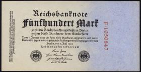 R.071a 500 Mark 1922 (1/1-)