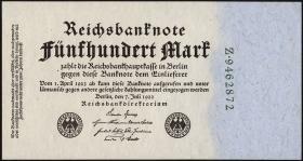 R.071b: 500 Mark 1922 7-stellig (1)