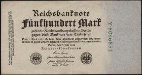 R.071b: 500 Mark 1922 7-stellig (3)