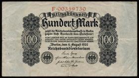 R.072: 100 Mark 1922 (3)