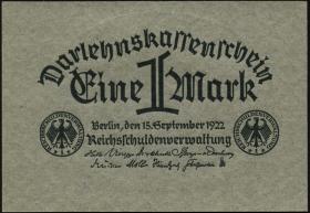 R.073a: 1 Mark 1922 (1)